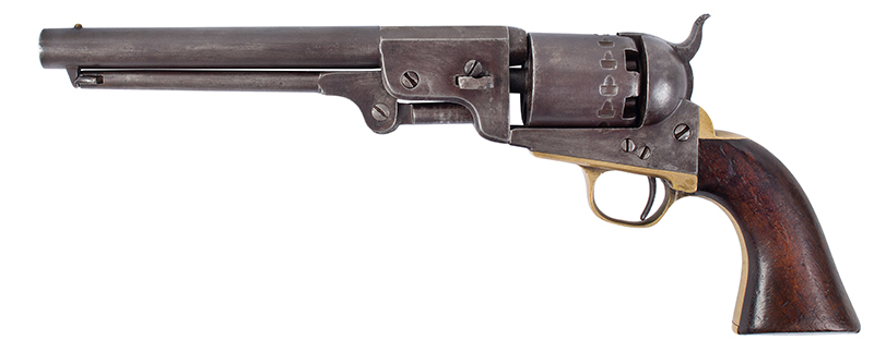 Rigdon & Ansley Confederate Revolver, Serial Number 2136, left facing