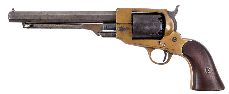Spiller & Burr Confederate Revolver, Important Collection History, left facing
