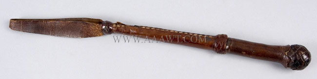 Unusual Riding Crop, detail view