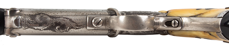 The Fine and Rare Whitmore Buggy Rifle, Outstanding  Nathaniel Whitmore & Son, Nathaniel Gilbert Whitmore  Mansfield, Massachusetts, trigger guard