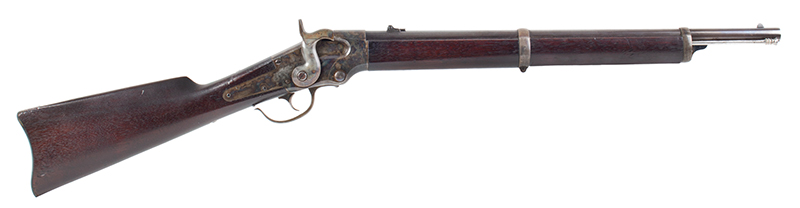 Lamson & Co., Ball Repeating Carbine, .50 Caliber, SPECTACULAR Windsor, Vermont Seven shot repeater, lever action; total manufactured: 1,000., right facing