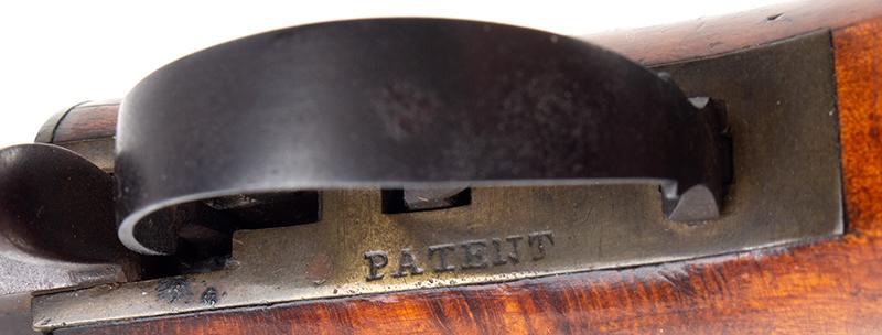 Percussion Underhammer Pistol by M. Carleton & Co., .40 Caliber Haverhill, New Hampshire, patent