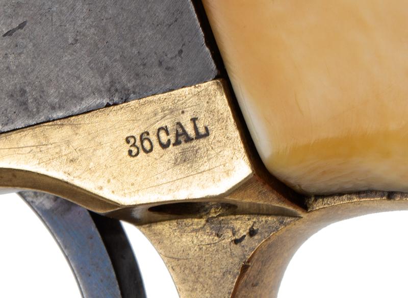 Colt Model 1851 Navy revolver, detail view 2