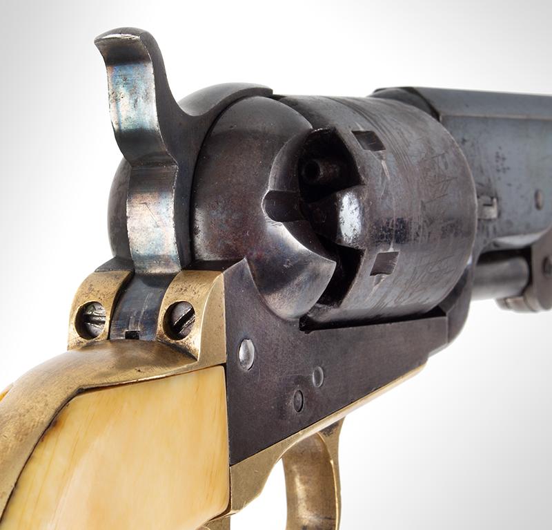 Colt Model 1851 Navy revolver, hammer