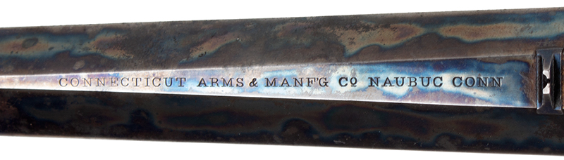 Hammond Bull Dog Derringer, .44-Caliber, Connecticut Arms, Rare WITH Case Color Incredible Case Color!! 90% Remaining, Original Brown Rubber Grips Largest Caliber Derringer Made in America., address
