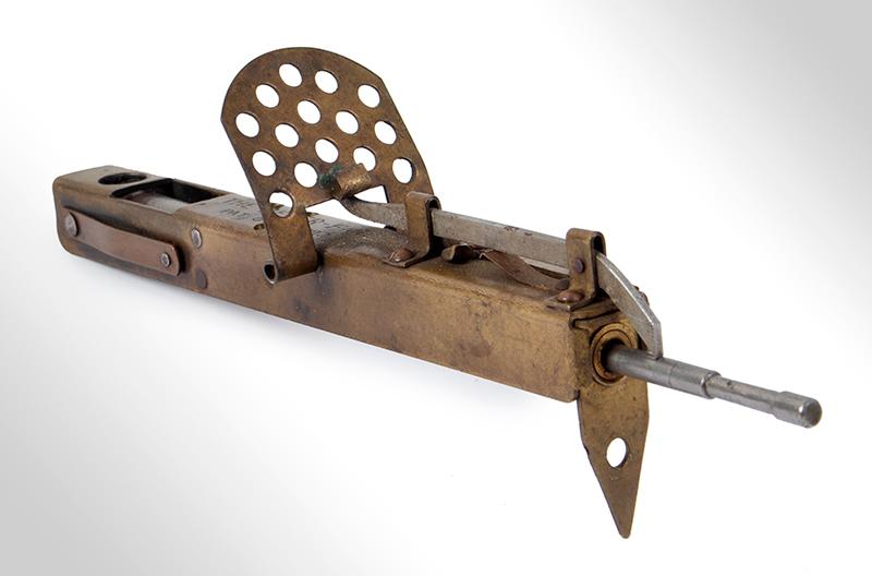 The Never-Fail Gopher Trap Gun, Firearm Curiosa, Seldom Seen, entire view 2