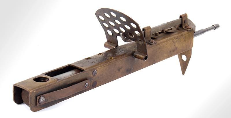 The Never-Fail Gopher Trap Gun, Firearm Curiosa, Seldom Seen, entire view 3