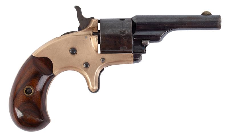 Colt Open Top Pocket Model Revolver, entire view 1
