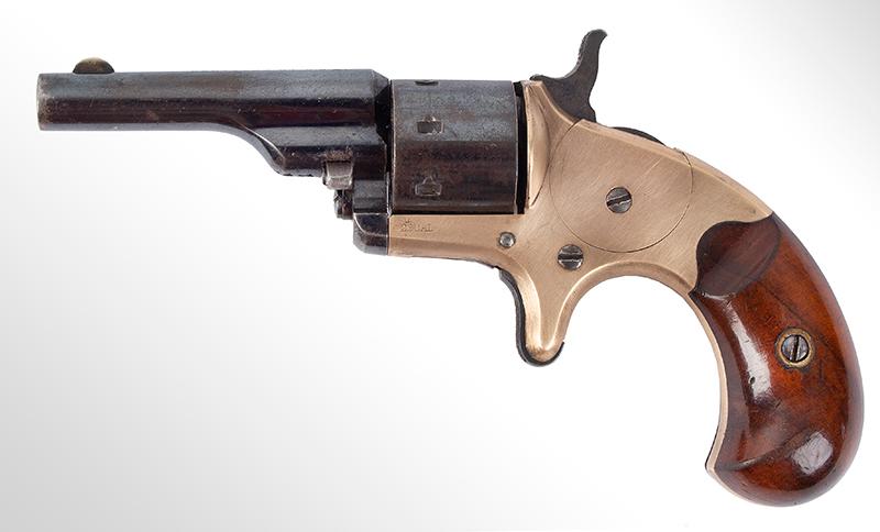 Colt Open Top Pocket Model Revolver, entire view 2