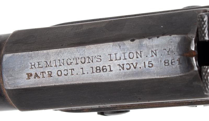 Pistol, Remington Vest Pocket, Saw Handle Derringer, address
