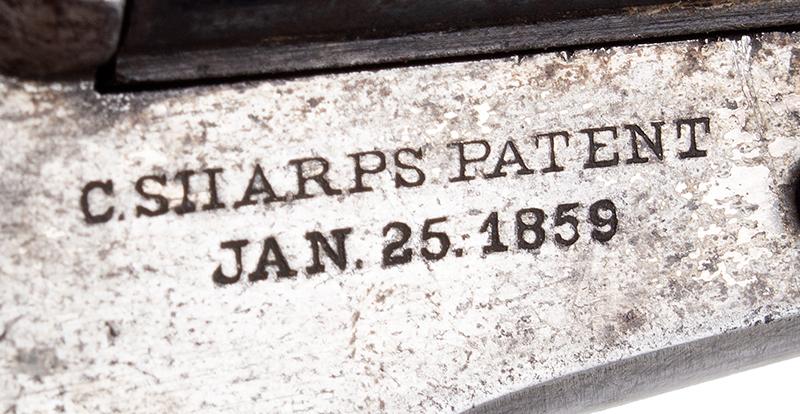 Sharps Pepperbox, Four Barrel Bulldog Derringer, Model 4, patent