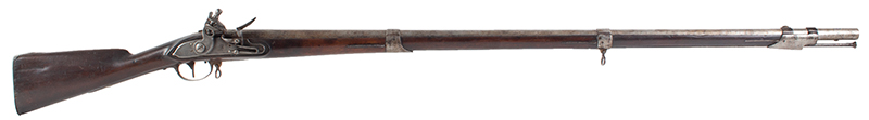 US Model 1808 Contract Flintlock Musket, Sutton, Waters, Dated 1810, right facing