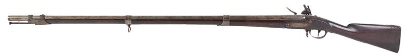 US Model 1808 Contract Flintlock Musket, Sutton, Waters, Dated 1810, left facing