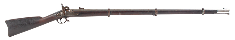 U.S. Model 1863 Type I Contract Rifled Musket, Springfield, UNTOUCHED          Springfield, Massachusetts, right facing