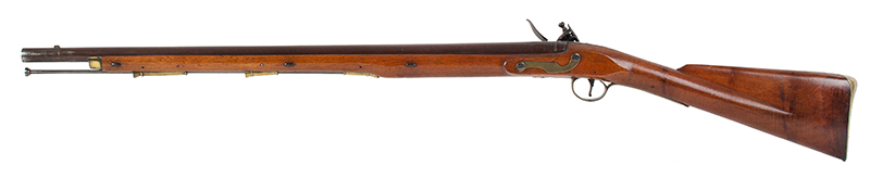 Circa 1800 Cadet's Musket after the Brown Bess, with Bayonet English, Unmarked, circa 1800, left facing