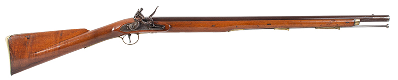 Circa 1800 Cadet's Musket after the Brown Bess, with Bayonet English, Unmarked, circa 1800, right facing