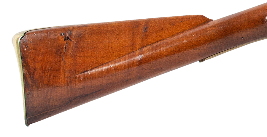 Circa 1800 Cadet's Musket after the Brown Bess, with Bayonet English, Unmarked, circa 1800, stock