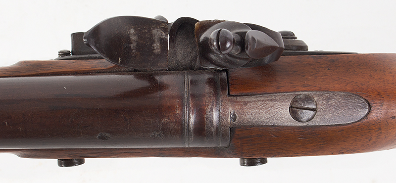 Circa 1800 Cadet's Musket after the Brown Bess, with Bayonet English, Unmarked, circa 1800, tang