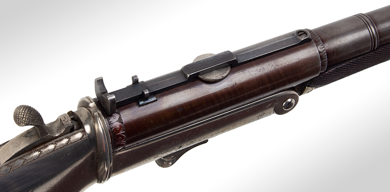 Signed buggy rifle by N. Whitmore