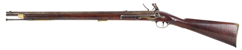 British Volunteer Rifled Cavalry Saddle Ring Carbine by Henry Nock  Model Pattern 1799, Issue Number 14 of 20 Made, left facing