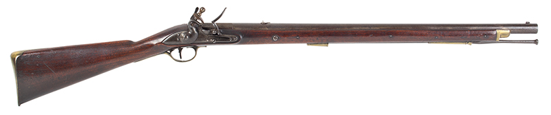 British Volunteer Rifled Cavalry Saddle Ring Carbine by Henry Nock  Model Pattern 1799, Issue Number 14 of 20 Made, right facing
