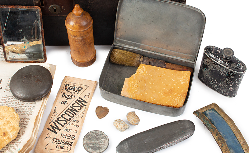 Civil War Lot: One Man's CW items with Additions Lt. George W Marsh, 10th Wisconsin Infantry, detail 3