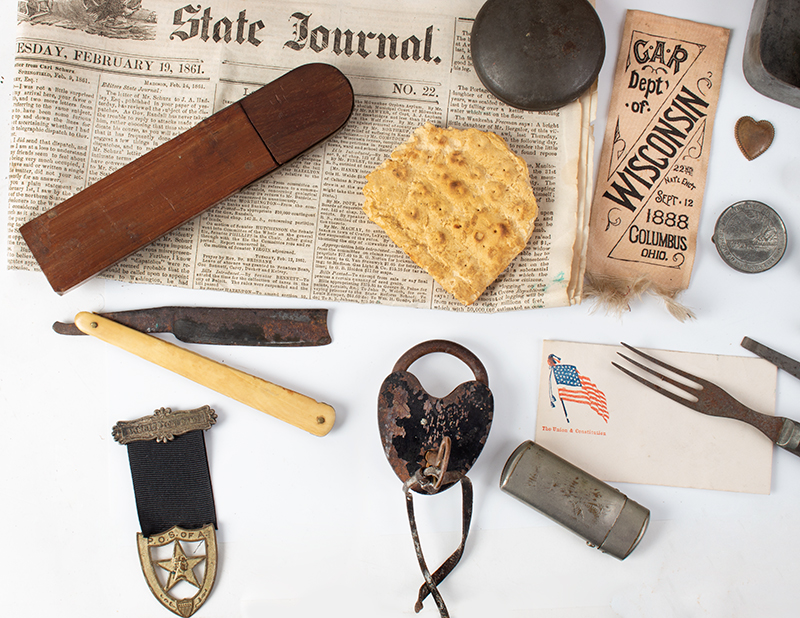 Civil War Lot: One Man's CW items with Additions Lt. George W Marsh, 10th Wisconsin Infantry, detail 5