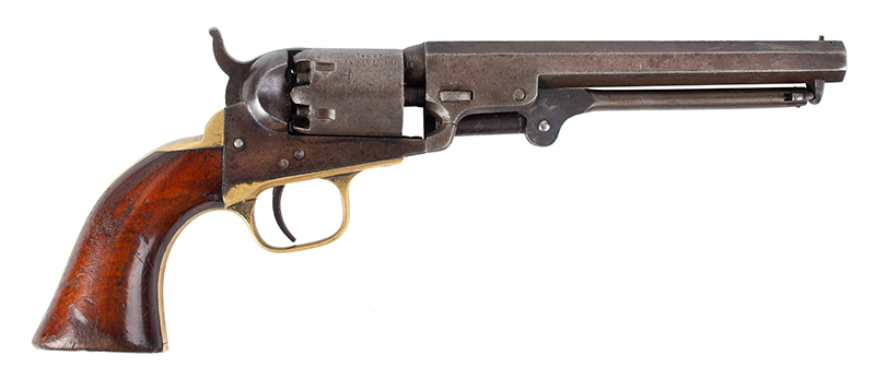 Colt Model 1849 Pocket Revolver  All matching serial numbers: 30341, right facing