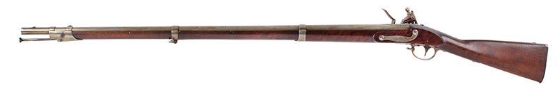 US Model 1816 flintlock musket by Asa Waters with New Hampshire Surcharge, left facing