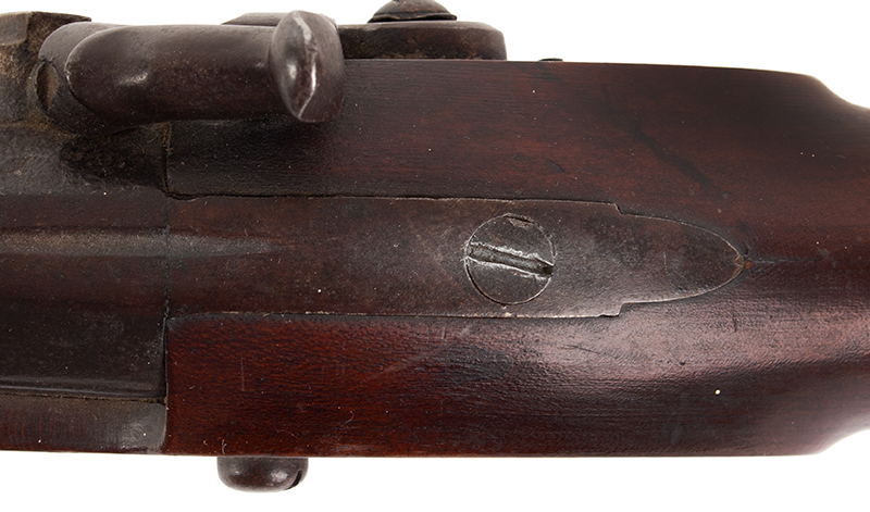 "Antique, Percussion Fowler, Boston, ""The Last American Long Fowler"", Fine Condition William Read, Boston, Massachusetts, circa 1840-1850 A special-order late percussion long fowler, 52-inch barrel, .65-Caliber, Cherry stock, tang"