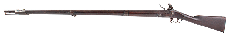 US Model 1808 Flintlock Musket by R & C Leonard, Canton, Massachusetts New Hampshire Surcharge, Dated 1811, left facing