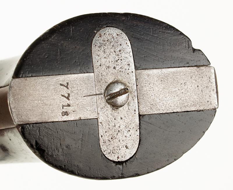 Antique, Sharps & Hankins Breechloading Four-Shot Pepperbox, Model 3B 3.5-inch barrel in .32-caliber rimfire, serial-no