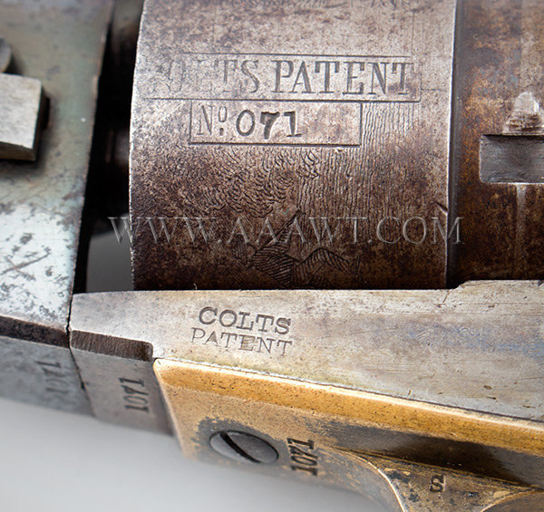 colt model 1862 pocket navy revolver f786
