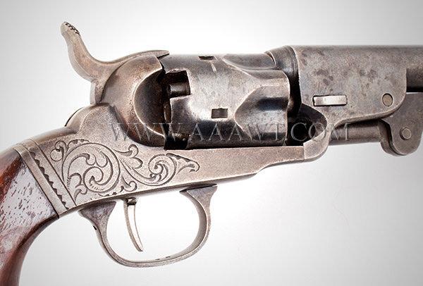 Bacon Manufacturing Second Model Percussion Revolver, F777
