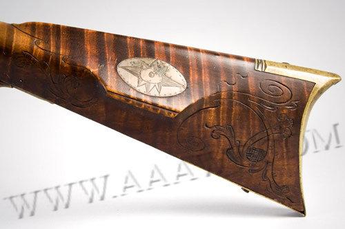 Kentucky Rifle, Long Rifle, Curly Maple, F680