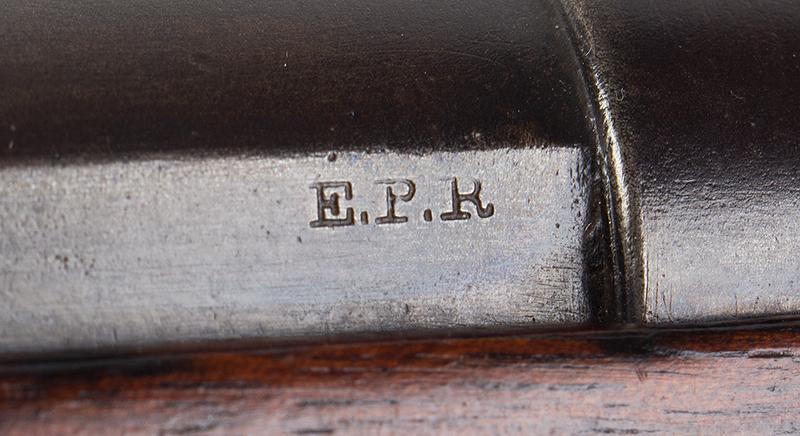 """Civil War Era Rifle; Sharps, New Model 1863, 3 Band Barrel .52 caliber percussion breechloader, 30""""-barrel, Serial number C,31792, EPR"""