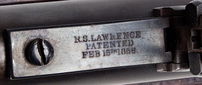 """Civil War Era Rifle; Sharps, New Model 1863, 3 Band Barrel .52 caliber percussion breechloader, 30""""-barrel, Serial number C,31792, patent 2"""