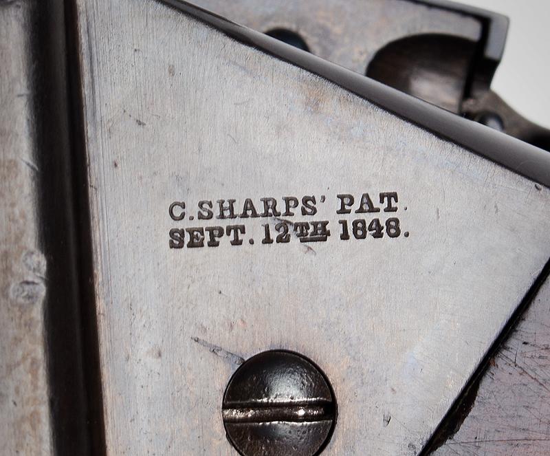 """Civil War Era Rifle; Sharps, New Model 1863, 3 Band Barrel .52 caliber percussion breechloader, 30""""-barrel, Serial number C,31792, patent 1"""