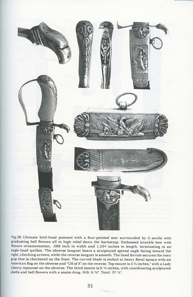 War of 1812, Important Philadelphia Silver Hilt Sabers Unknown Maker…truly dramatic!, book view 3