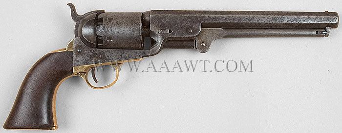 colt 1851 model navy revolver purchased by the us army