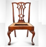 Chippendale Side-Chair, Cabriole Legs, Claw & Ball Feet Philadelphia, Possibly by David Evans, C 1775-1785