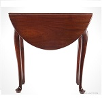 Table, Queen Anne, Drop Leaf, Mahogany