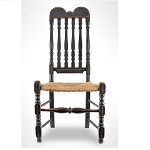 745-181Chair, Side, Bannister Back