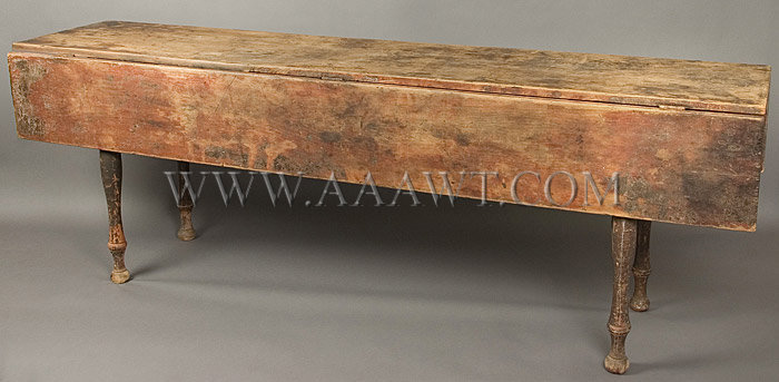 Table, Harvest Table, Seven Foot Length New England, Found On Vermont New  Hampshire Border. Circa 1825   SOLD