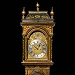 Antique, Fine Japanned Lacquered Chinoiserie Tall Clock by Alexander Watson London, 1735 -1745