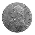 Liverpool Halfpenny, 1st Obverse, 2nd Reverse, Circa 1791,   Rare, 31mm