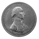 The Halliday Medal, Circa 1797, Bronze, Chocolate Brown,  Very Rare, 54mm GW-57