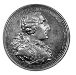 Eccleston Medal, Circa 1805, Bronze, Dark Chocolate Brown, Scarce, 75.66mm
