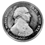 Large Sansom Medal, Circa 1879, Very rare, 46mm, Bronze GW-60