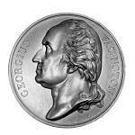 Series Numismatica Medal, Washington Issue, Misspelled,   Circa 1830, 41.9mm